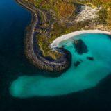 Playa los metates, isla coronado